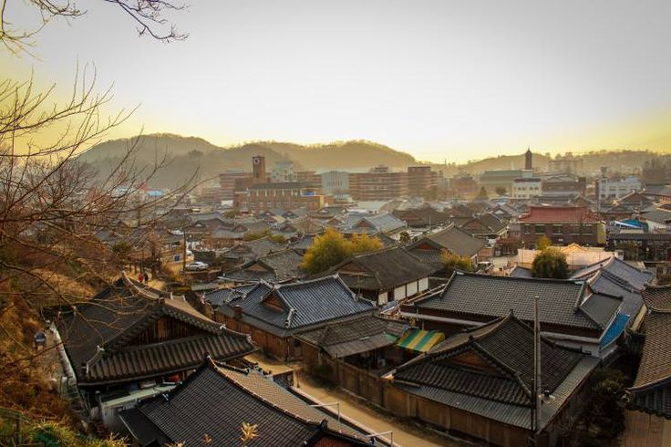 Rooftops of Jeonju's hanok village. Image by Chris Anderson / CC BY-SA 2.0