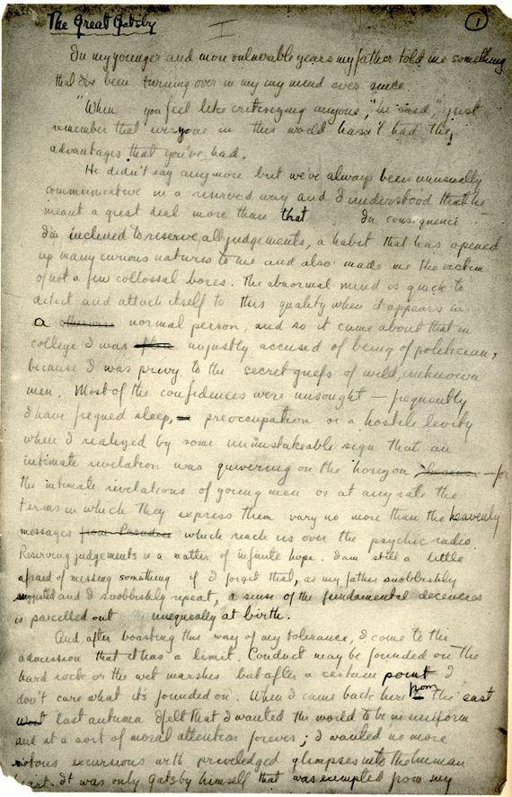 best f scott fitzgerald images l wren scott f  doodles by lewis carroll handwritten manuscript pages from classic books f scott fitzgeraldzelda