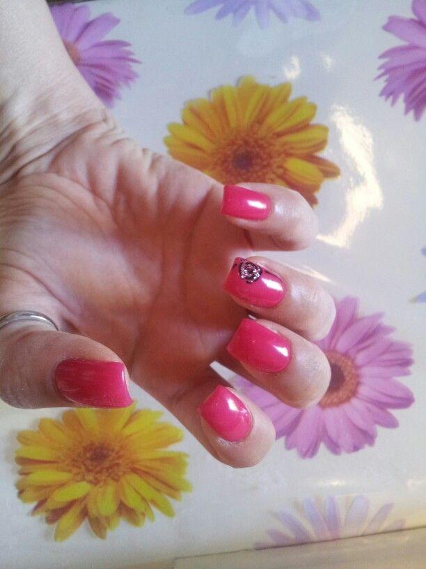 Fucsia con rosa