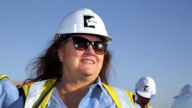 Roy Hill, run by Australia's richest person, Gina Rinehart, wants workers to take pay cuts.