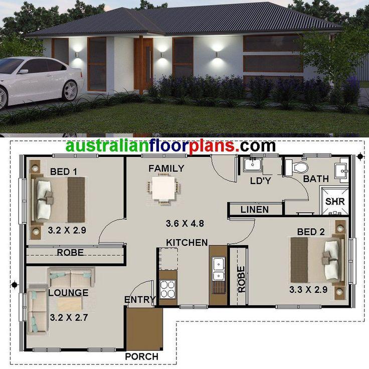Plan de casa de 2 habitaciones pequeñas/abuela Plana/Diseños/planes de construcción para la venta | Industrial, Construcciones modulares y prefabricadas | eBay!