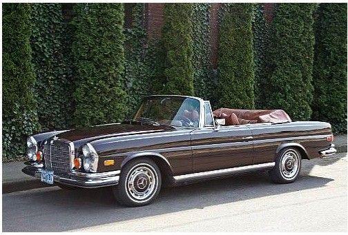 1972 Mercedes-Benz 280SE 3.5 Cabriolet
