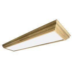 AFX Lighting UCM432R8 Winchester Crown Molding Wood Frame 4-Lamp Fixture, Unfinished with Smooth White Acrylic Diffuser by AFX Lighting. $294.77. From the Manufacturer                The American Fluorescent UCM432R8 Winchester Crown Molding Wood Frame 4-Lamp Fixture, Unfinished with Smooth White Acrylic Diffuser is a Classic traditional crown molding in solid wood, smooth white acrylic diffuser The fixtures uses:(4) 32Watt T8  with a max wattage of 32. This fixture is ...