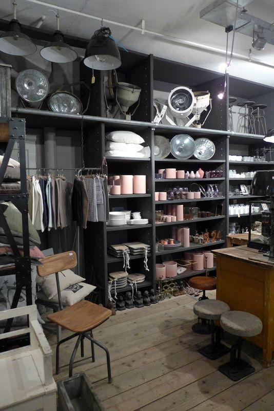 De Weldaad for vintage furniture, in Jordaan area, Amsterdam