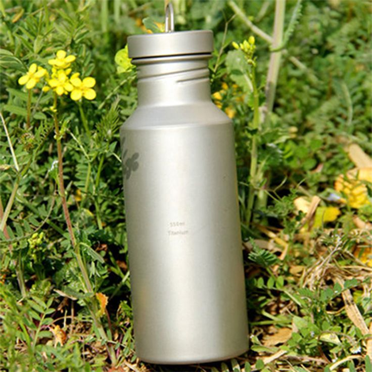 Keith Hot Sale Titanium My Bottle With Bag Botella De Agua Bicycle Bottle Outdoor Camping Sport Bike Water Bottle 550ml Ti31