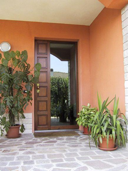 Porta blindata con vetro - Fratelli Brivio #door