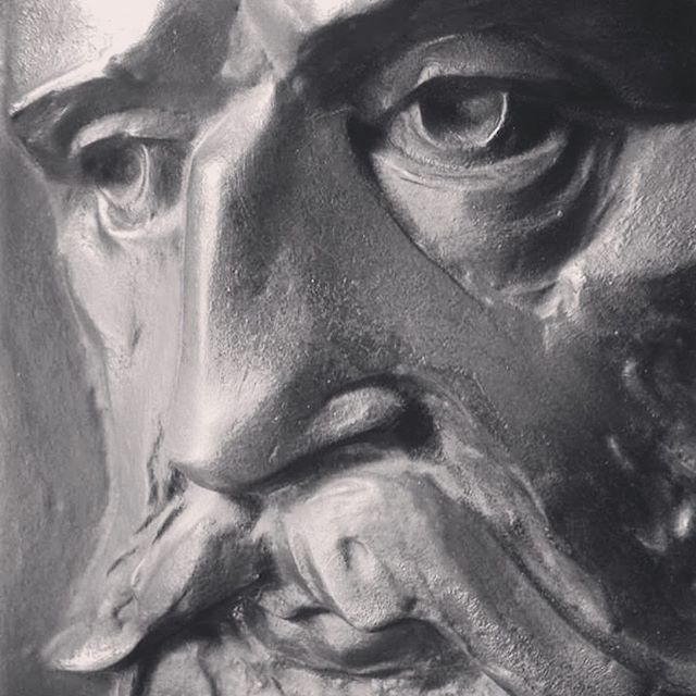 Batthyány #detail #portrait #sculpture #vetroandras
