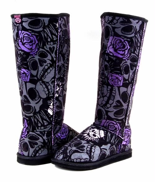 These say you all over them!!!! Iron Fist Muerte boots