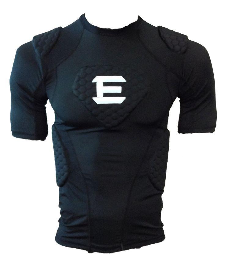 Amazon Com Elitetek Padded Compression Shirt Cps14