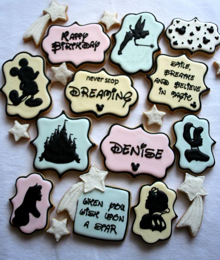Sugar Sugar Cookies Disney Inspired