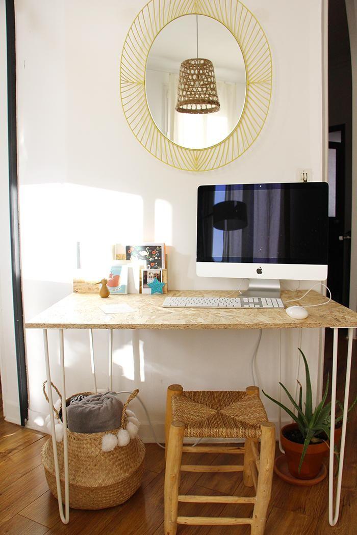 Un bureau OSB handmade, très simple à réaliser !