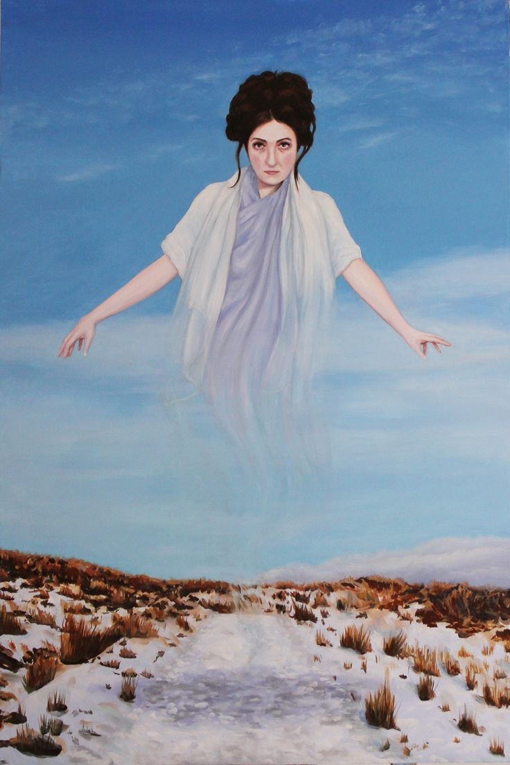 Elena Duff_The Invisible Woman_90x60cm  oil on cotton 2015 www.elenaduff.com oil painting art irish art landscape portrait contemporary art realist