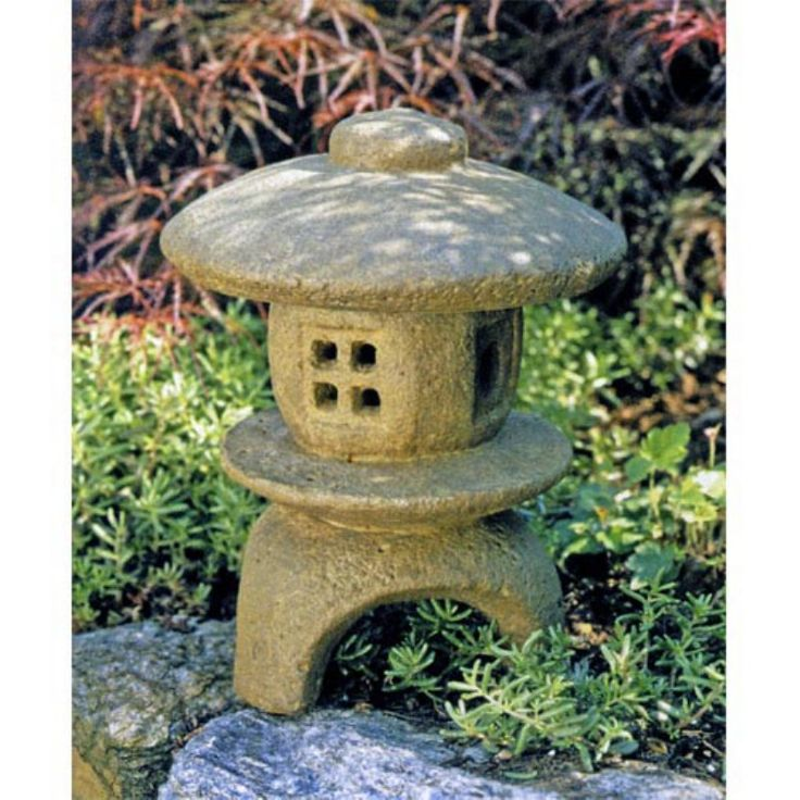 Mini Pagoda Garden Statue   Thereu0027s Nothing Like A Genuine Hand Crafted  Cast Stone Garden Artifact. Heavy And Durable, This Humble Looking Mini  Pagoda ...