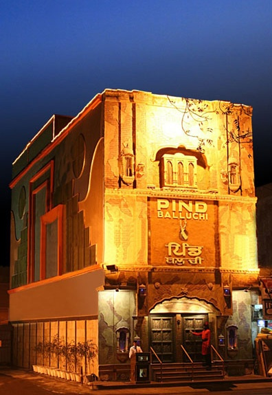 Welcome to Pind Balluchi :: Presenting the food of the Pind in a Rustic Ambience