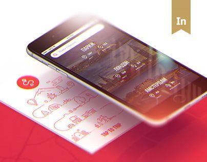 查看此 @Behance 项目: \u201cTAP TO TRIP   iOS & Android App\u201d https://www.behance.net/gallery/33586011/TAP-TO-TRIP-iOS-Android-App