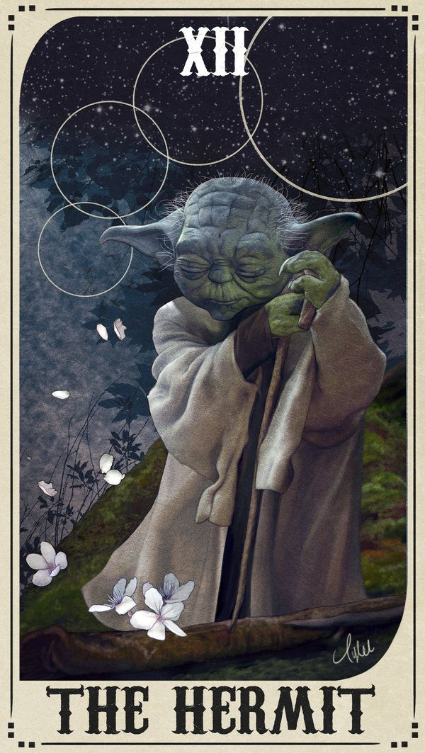 Star Wars Tarot Deck - XII The Hermit by ctyler on DeviantArt