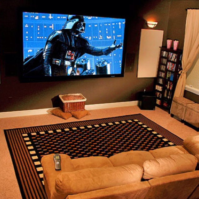 Movie theater at home ideas