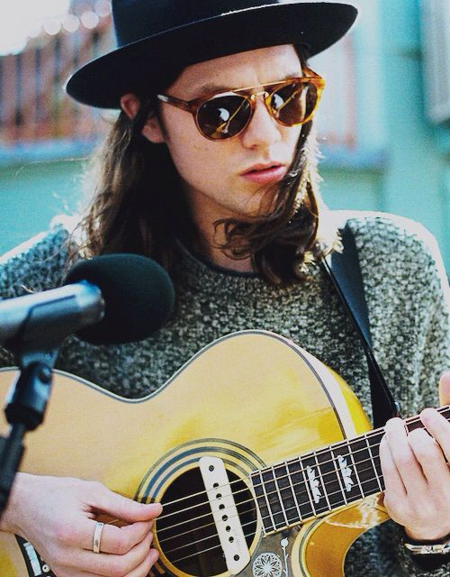 James Bay. Cute, musical, and British. I want him to sing me to sleep every night.