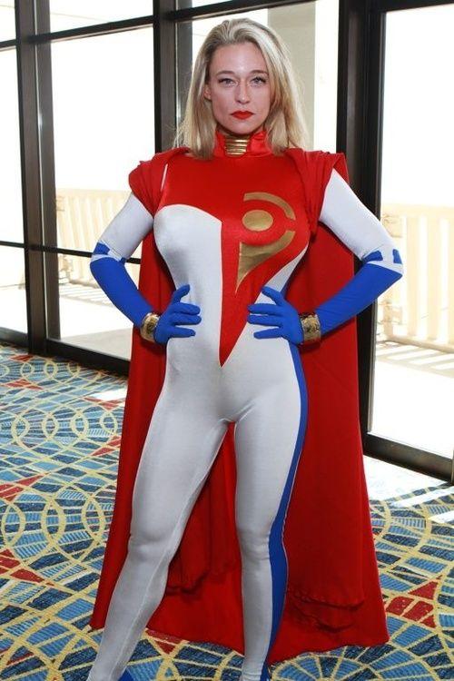 cosplay costume girl Power