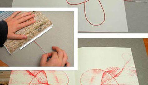 Kunst mit Farbe und Faden: Bunt gefädelt Stefanie Züger