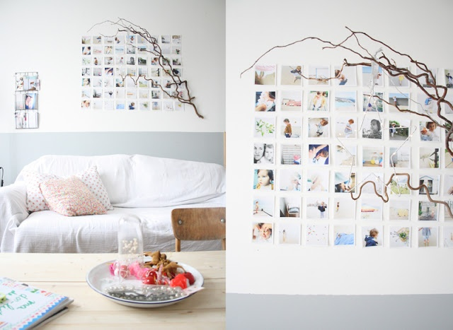 1000 images about picture hanging ideas on pinterest polaroid hanging polaroids and polaroid. Black Bedroom Furniture Sets. Home Design Ideas