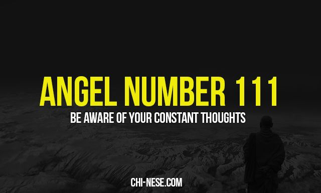 Angel number 111 and its spiritual meaning @ http://chi-nese.com/angel-number-111-and-its-spiritual-meaning/ #angelnumbers #angelnumber111