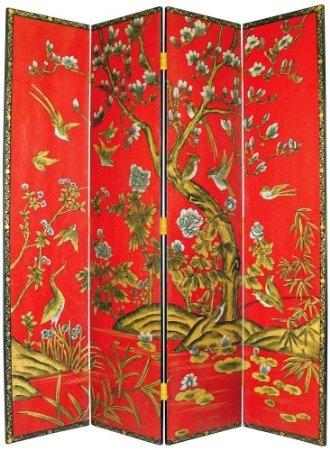 tree of life handpainted japanese room divider screen inspiration