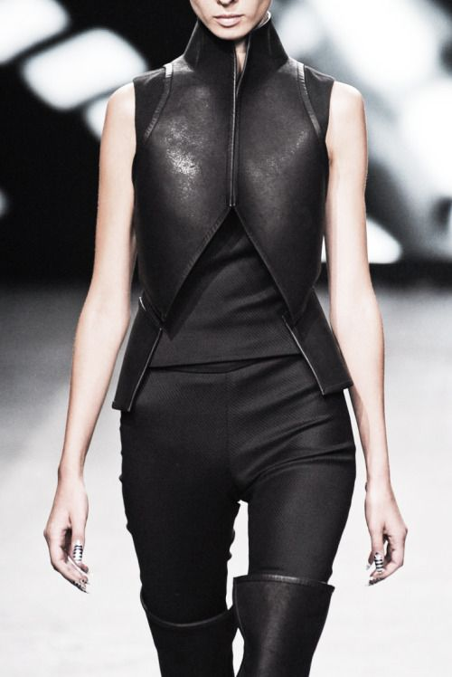 Visions of the Future: Designer: Gareth Pugh 2012