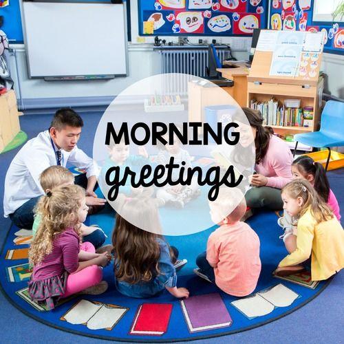Greeting ideas responsive classroom m4hsunfo