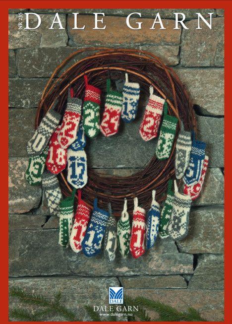 Gratis juleoppskrifter fra Dale Garn | Strikkeoppskrift.com