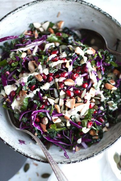 Everyone's favourite superfood is in season, and with the cold weather making kale sweeter, now's the time to get cooking. Packed with antioxidants and iron, add it to everythng from salads and quiches to burgers and casseroles. Here are some new ways to harness the health benefits of this leafy green...
