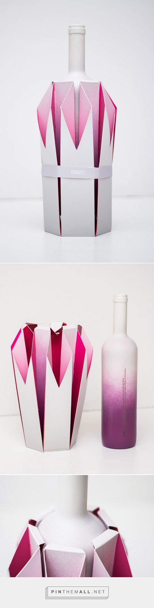 Gorget wine designed by Natalia Wysocka. Pin curated by #SFields99 #packaging #design