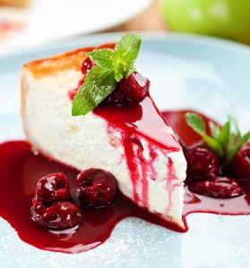 Cheesecake recept: zelf cheesecake taart maken | Taarten maken, taart bakken en cupcakes versieren | Taart recepten