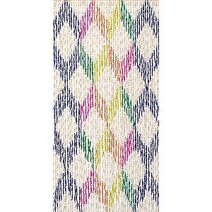 Tenda Porta Mais Multicolore Rombi 120 X 240 Cm