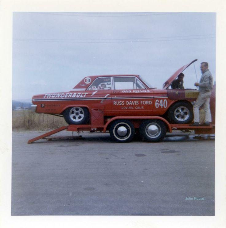 Gas Rhonda Ford Thunderbolt factory experimental drag ...