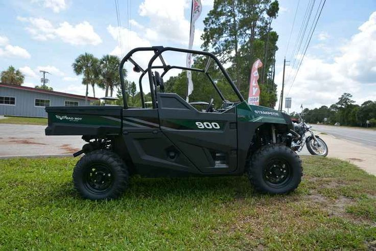 New 2017 Bad Boy Off Road Stampede 900 ATVs For Sale in Florida. 2017 Bad Boy Off Road Stampede 900, Freedom isn t found between the painted lines of a paved road. It s out just past the horizon, through the fields, the trails and the trees. Bad Boy built the Stampede 900 4x4 with 80HP, so you could explore every mile. Your independence is out there. We re here to help you find it. Come in today and meet the brand new addition to our stable! The all new game changing STAMPEDE 900!!! Whether…
