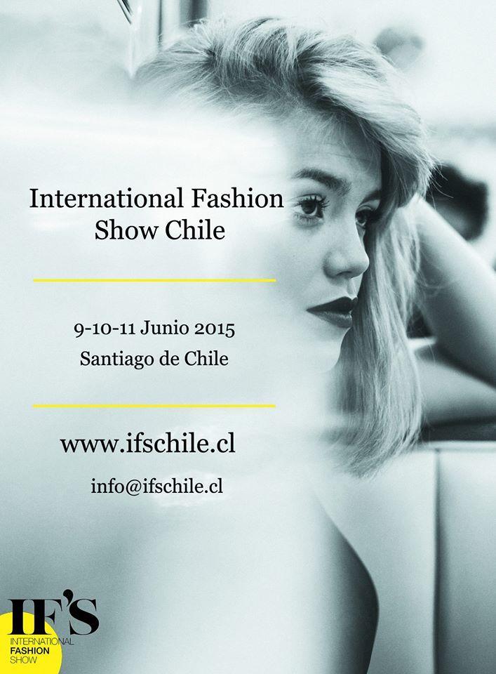 La segunda edición de IFS Chile viene con fuerzas, y pronto anunciaremos novedades!  #fashion #ifschile #fashionshow #moda #model #poster  #chile #modachile #santiago #modasantiago #eventomoda #fashionevent #junio2015