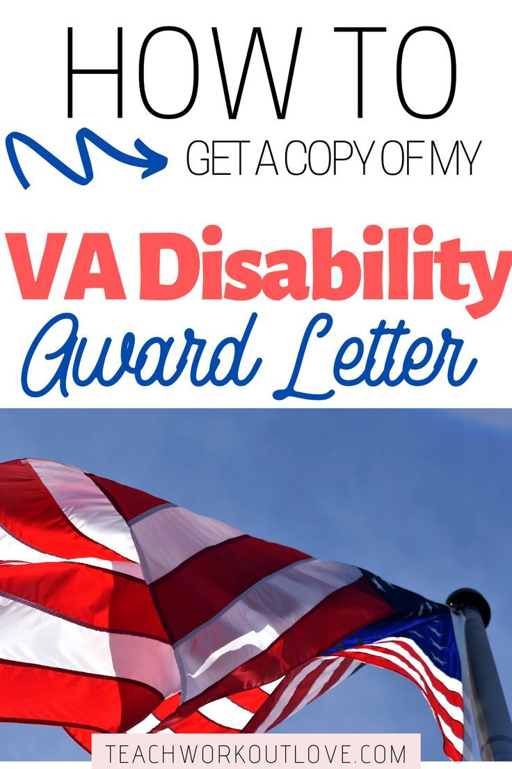 How To Get A Copy Of My Va Disability Award Letter Twl Working Moms Va Disability Lettering Working Moms