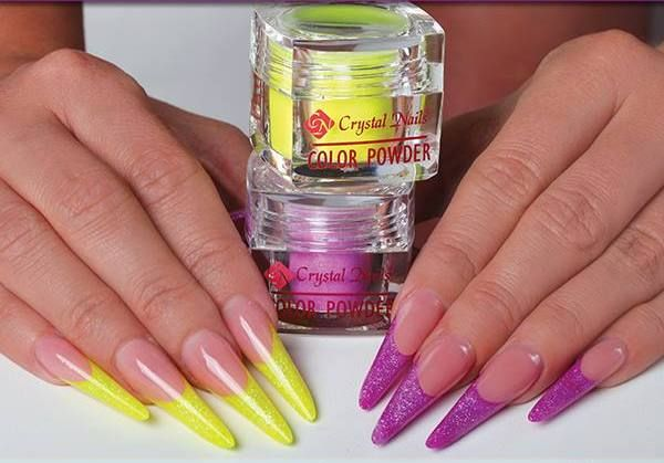 #Full Diamond #acrylic powder in FD13 and FD10 colors