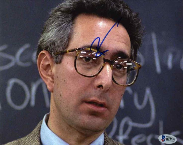 Ben Stein Ferris Bueller's Day Off Signed 8x10 Photo Certified Authentic Beckett BAS COA