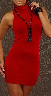 WOMAN TOP STACY RED