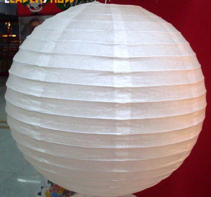 Cómo hacer una pantalla de papel para lámparas