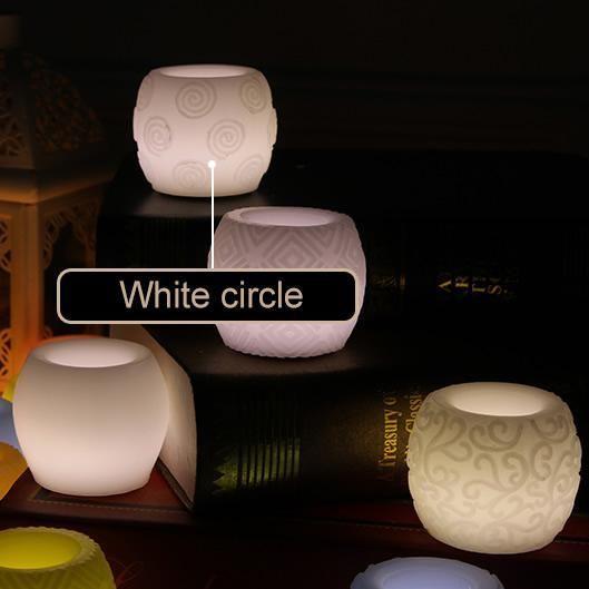 Más de 25 ideas increíbles sobre Bougie electrique en Pinterest - küchenrückwand glas mit led