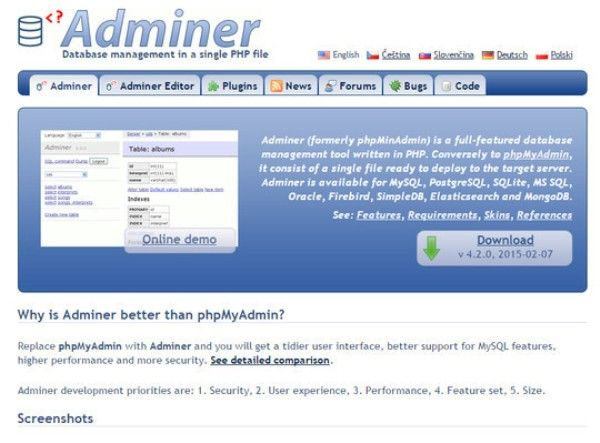 9 Free Database Tools For System Admins
