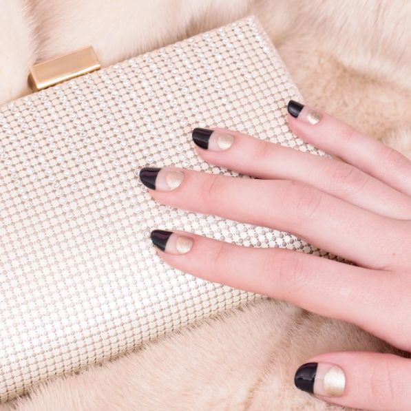 A weekend of celebrating starts now with this expensive-looking Get Loose mani.