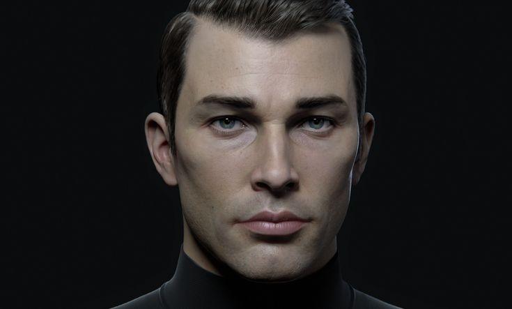 ArtStation - Male Character Portrait , Andrei Cristea