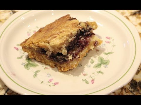 DESSERTS/ BLUEBERRY BARS RECIPE/CHERYLS HOME COOKING/EPISODE 547