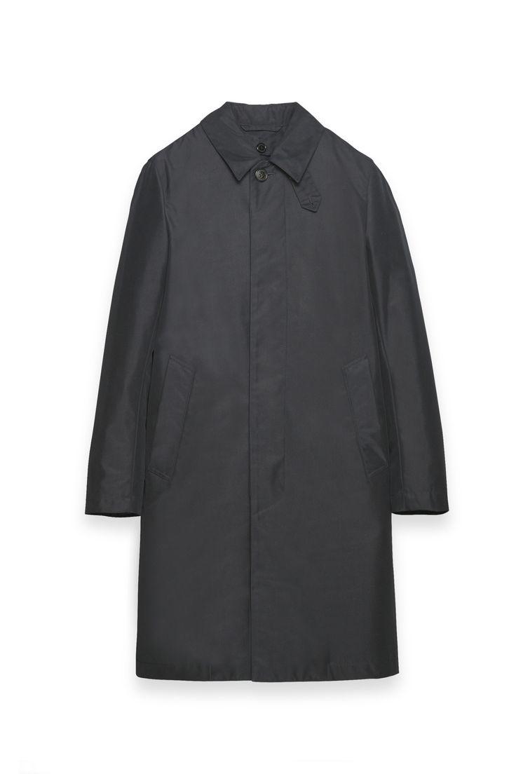 GM 001BSD - 2M02 NAVY single-breasted coat with detachable lining£550 シングルブレステッド コート(ディタッチャブル ライナー付き) ¥128,000+tax