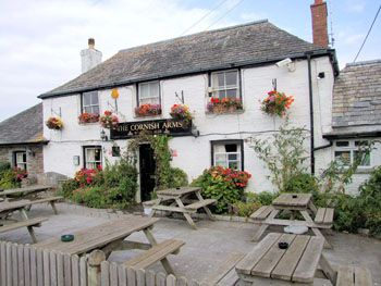 The Cornish Arms - one of Rick Stein's Restaurants (Cornwall)