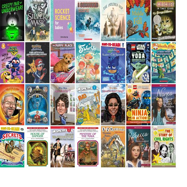 """Saturday, October 21, 2017: The Framingham Public Library has 56 new children's books in the Children's Books section.   The new titles this week include """"Creepy Pair of Underwear!,"""" """"The Silver Mask,"""" and """"Rocket Science for Babies."""""""